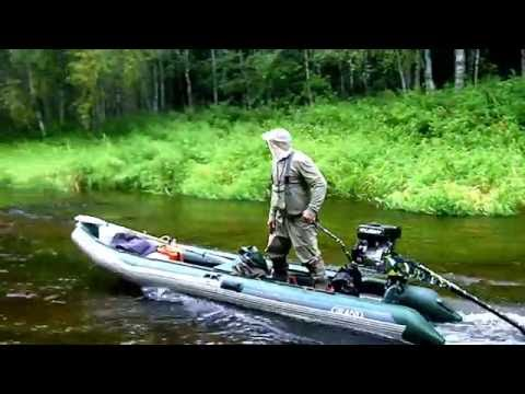 Река Пышега болотоход BAWAD