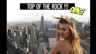 ZUZIA W WIELKIM MIEŚCIE - TOP OF THE ROCK! - Najlepsze widoki w Nowym Jorku! | lamakeupebella