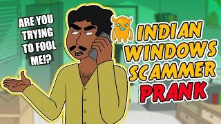 Indian Windows Scammer Prank - Ownage Pranks