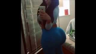Big Booty Spanish Pawg Showin Off Thick Ass In Blue Tights Vine 2015