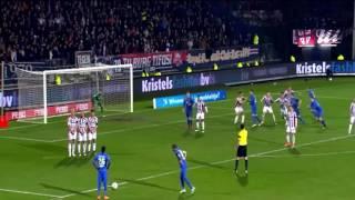 أجمل مهارات & أهداف أحسن لاعب في الدوري الهولندي المغربي حكيم زياش -2016