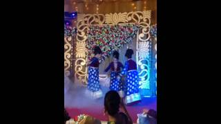 Wedding dance performance ( lila bali)