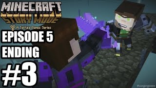 Minecraft Story Mode Episode 5 ENDING - Gameplay Walkthrough Part 3 - No Commentary