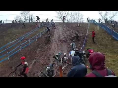 Mud Slide Madness at U.S. CX