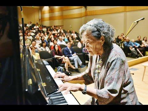 《梁祝》钢琴独奏 编曲暨演奏 巫漪� 老师 Elaine Wu YiLi s Butterfly Lovers Piano concerto at Older But Wiser Forum