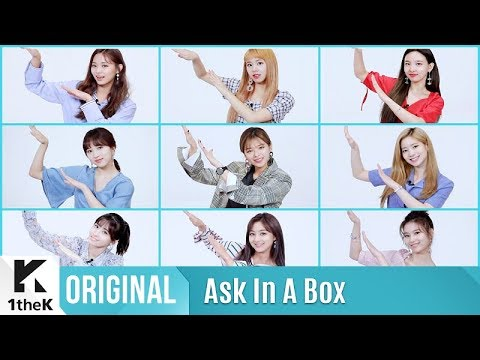 ASK IN A BOX(에스크 인 어 박스): TWICE(트와이스) _ Dance The Night Away