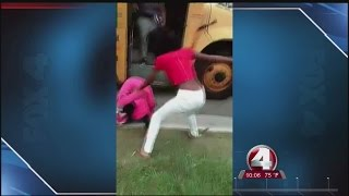 Moms of girls in South Fort Myers High School bus fight speak out