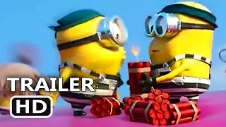 DЕSPІCАBLЕ MЕ 3 Dynamite Versus Minions Tv Spot Trailer (2017) New Animation Movie HD