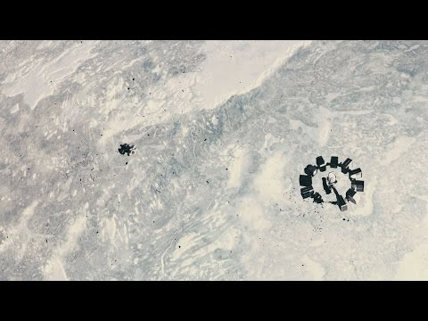 Interstellar Docking Scene HD