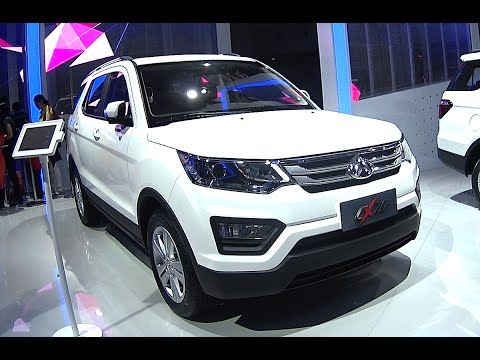 2016, 2017 Changan CX70 SUV is Naked from all Sides in China