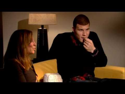 Blake Griffin Looks at Youtube Dunks