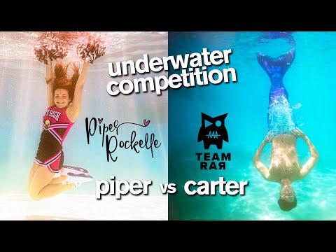 Epic Underwater Photo Challenge ft Piper Rockelle Squad vs Carter Sharer Team RAR