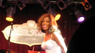 K. Michelle- Yesterday (Mary Mary cover) Live at BB King Blues Club NYC 2/19/13