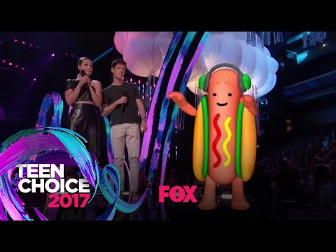Xxx Mp4 The Dancing Hotdog Takes The Stage TEEN CHOICE 3gp Sex