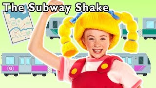 The Subway Shake and More | TRAIN SONG | Baby Songs from Mother Goose Club!
