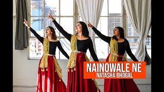 Nainowale Ne By Natasha Bhogal | Padmaavat: Deepika Padukone | Ranveer Singh | Shahid Kapoor