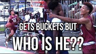 HE GETS BUCKETS But Who Is He??!! Dyckman League Player Of The Game Highlights