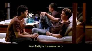 Shah Rukh Khan's scene - Luck By Chance