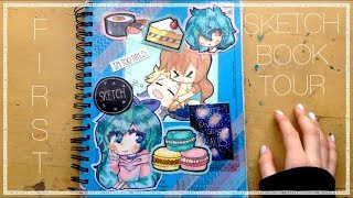 ☆FIRST SKETCHBOOK TOUR☆// 10,000 Subscriber Special