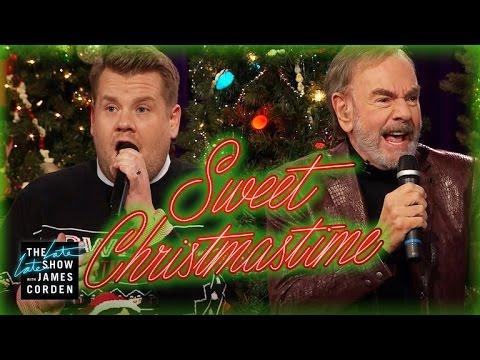 Sweet Christmastime w Neil Diamond & James Corden