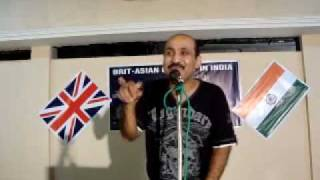 Download ENGLISH COMEDY BY DESI COMEDIAN(PART-3) LIVE IN INDIA by BRIJ MOHAN,comdian from LONDON. 3Gp Mp4