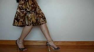 Forward Ocho W/ Horizontal Boleo ~ Argentine Tango Followers, Intermediate