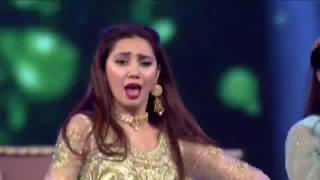 Mahira Khan,Humayun Saeed&Mohsin Abbas Performance 15th Lux Style Awards 2016