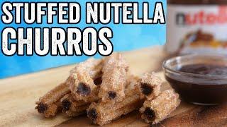 STUFFED NUTELLA CHURROS