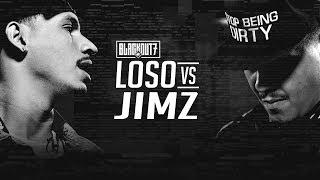 KOTD - Rap Battle - Loso vs Jimz | #BO7