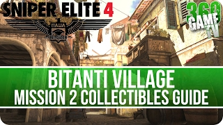 Sniper Elite 4 Mission 2 Collectibles Guide (Letters, Eagles, Documents, Reports, Rosters)