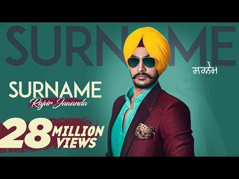 New Punjabi Songs 2016 | Surname | Rajvir Jawanda Ft. MixSingh | Latest Punjabi Songs 2016