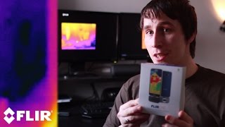 Ghost Caught on Thermal Camera | Flir One | Real Paranormal Activity Part 44
