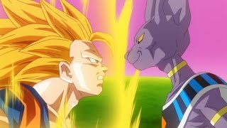 Goku Vs Lord Beerus Full Fight (English dub)
