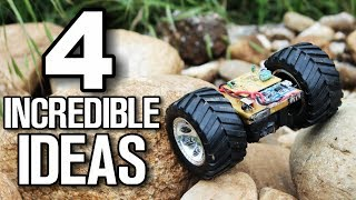 4 incredible inventions - Homemade Ideas