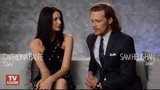[SUB ITA] Sam Heughan & Caitriona Balfe talk Outlander Season 2