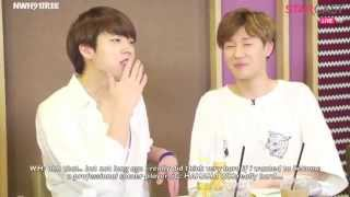 [ENG SUB] 150608 인피니트 5th Anniversary Inspirit Shining Night Woohyun concerns about the future