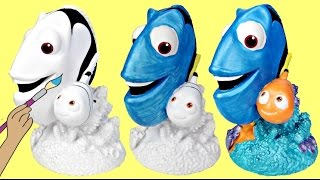 Disney FINDING DORY, Nemo Paint Your Own DIY Bank, Color Kids Crafting Activity / TUYC