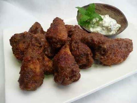 Baked Masala Chicken Wings Indian Recipe