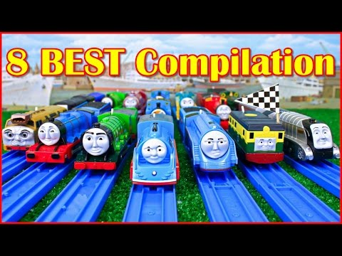 THOMAS AND FRIENDS THE GREAT RACE TRACKMASTER COMPILATION THOMAS & FRIENDS TOY TRAINS