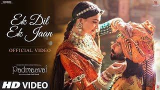 Padmavati  Ek Dil Ek Jaan Video Song  Deepika Padukone  Shahid Kapoor  Sanjay Leela Bhansali uploaded on 3 month(s) ago 11721603 views