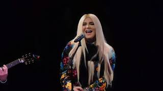 Kesha -Your Love is My Drug (Acoustic) - 2/13/18 -  All For the Hall-  Playstation Theatre, NYC