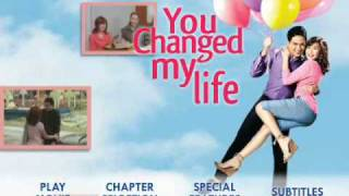 you changed my life dvd menu