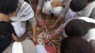 bk 30 08 2016  Rangoli banati chatra jain college