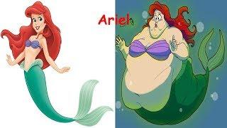 Disney Princess As Fat   Disney Princesses As Monsters  Disney Princess Characters in Real Life