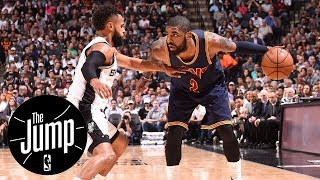 Spurs have no chance at Kyrie Irving | The Jump | ESPN