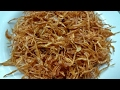 How to fry onion/fried onion recipe / easy way to fry onions