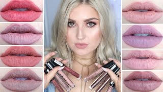 NYX Lip Lingerie Swatches! ♡ Review, First Impression & Lip Swatches