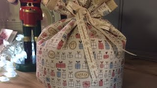 Gift bag tutorial by Debbie Shore
