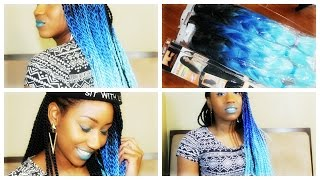 AliExpress Blue Ombre Hair Review