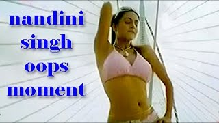 nandini singh oops moment video 2016 HD